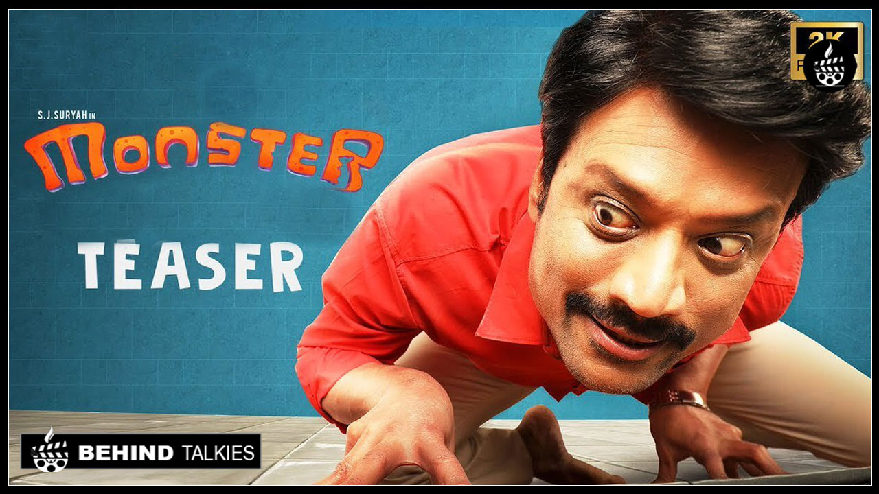 Photo of Monster Official Teaser – Starring S J Surya Priya Bhavani Shankar.!